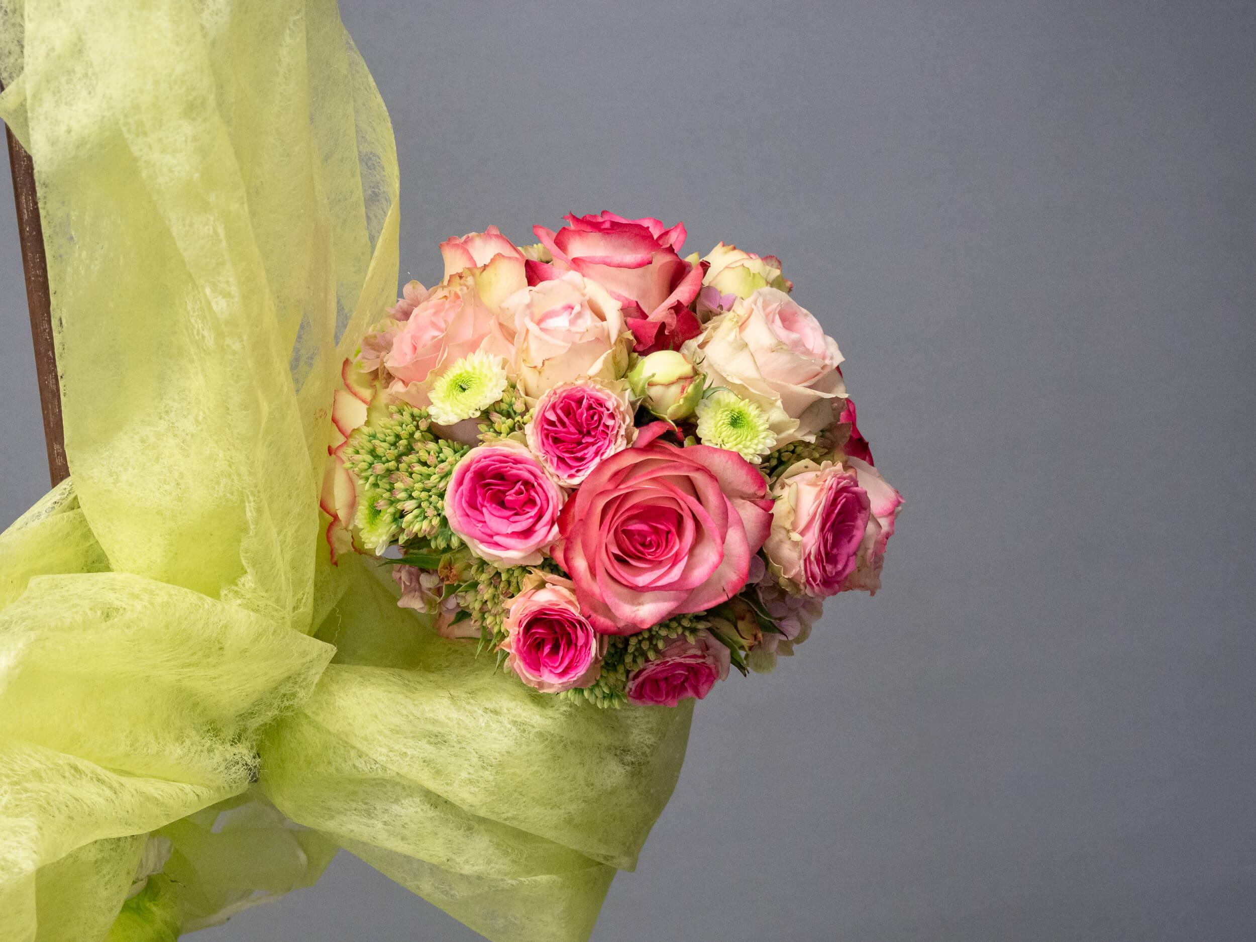 Brautstrauss Vintage rosa