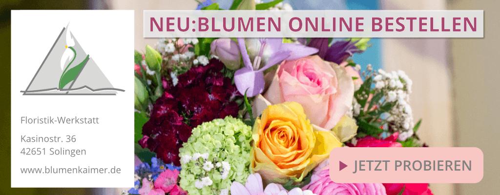 Banner Blumen Online Bestellen