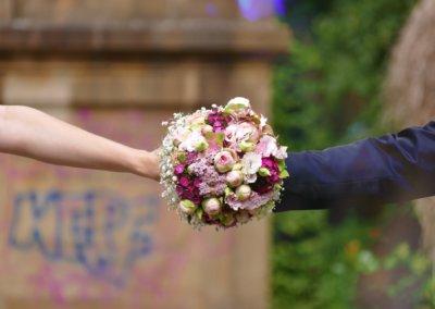 Brautpaar Blumenkaimer